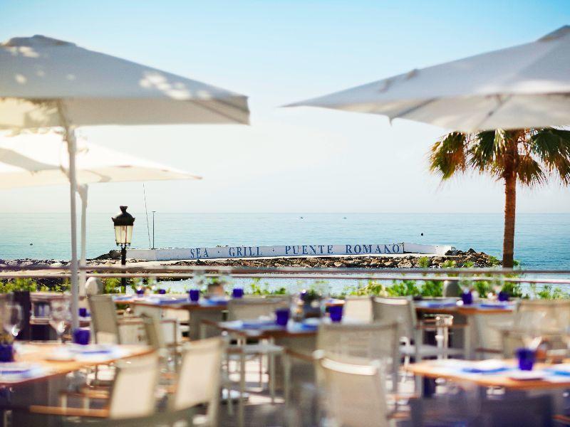 Luxury fitness retreat puente romano marbella 38 degrees - Sea grill marbella ...