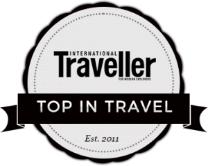 Top In Travel Badge Transparent